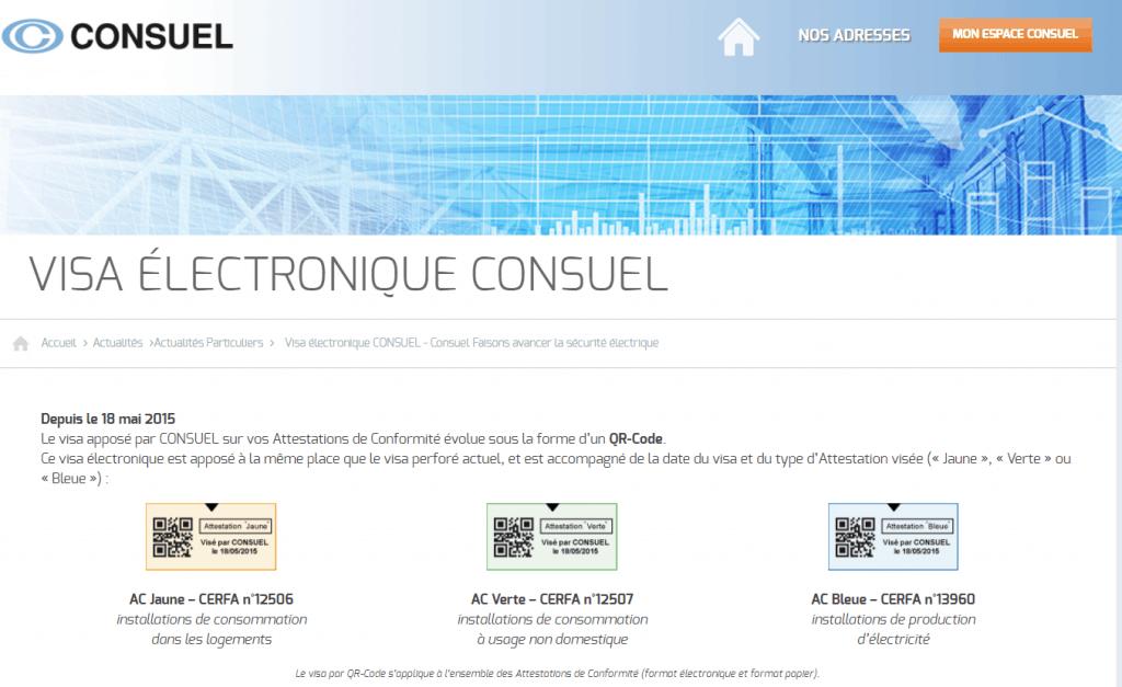 Espace client consuel